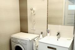 Apartament I – 33 m2 – łazienka